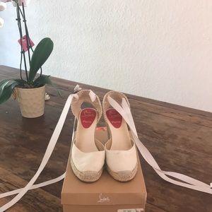 Louboutin espadrilles-white size 38